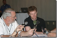 Larry with Dale Jr-1