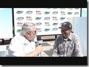 Larry with Kyle Petty